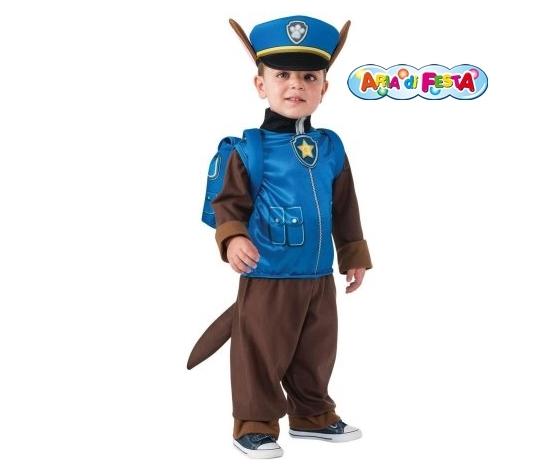 Costume carnevale paw patrol chase