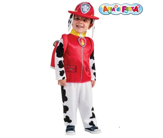 Costume carnevale paw patrol marshall