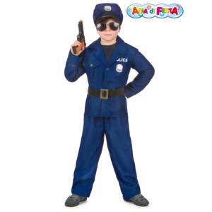 Costume di Carnevale poliziotto