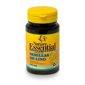 Olio di semi di Lino (Linum usitatissimum)   50 perle  500 mg
