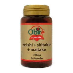 Reishi+Shitake+Maitake   90 caps 300 mg