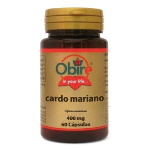 Cardo Mariano (Silybum marianum)  60   caps   400 mg