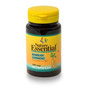 Ginseng Koreano  50 cap  400  mg