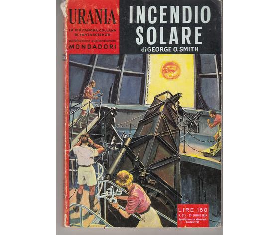 Incendio solare ( N. 215)
