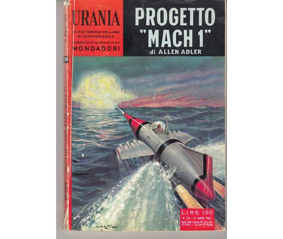 "Progetto  "" Mach 1"" (N. 225)"