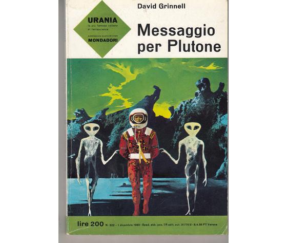 Messaggio per Plutone (N. 322)