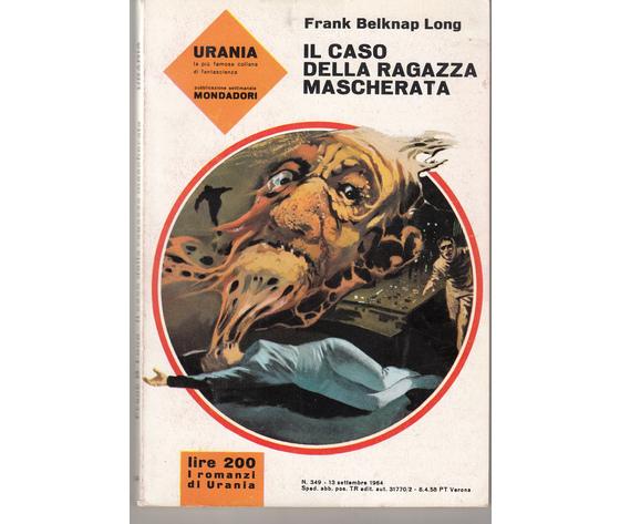 IL Caso della ragazza mascherata ( N. 349)