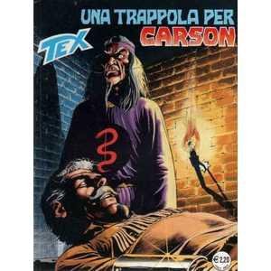 Una trappola per Carson (N° 502)