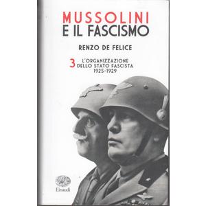 L'organizzazione dello Stato Fascista (1925-1929)