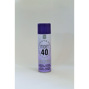 Itidet 40 Spray floreale - vetri specchi superfici lavabili - 500 ml