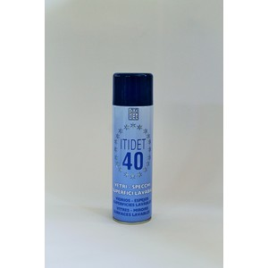 Itidet 40 Spray schiuma - vetri specchi superfici lavabili - 500 ml