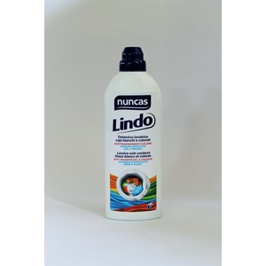 Nuncas Lindo detersivo lavatrice capi bianchi e colorati antitrasferimento colore - 1000 ml
