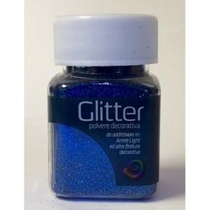Glitter blu gr. 30