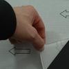 Piastrella adesiva posa