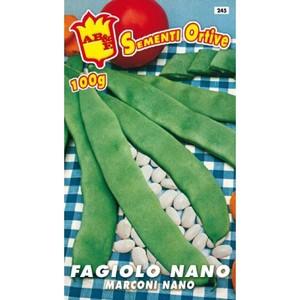 Fagiolo Nano Marconi (grano bianco) 200gr