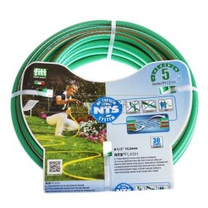 "Tubo retato 3/4"" 25mt No torsion System Flash verde"