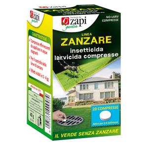 Zapi Zanzare insetticida larvicida compresse