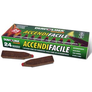 Diavolina Accendifacile 24 accensioni