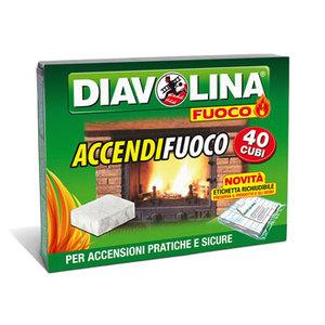 Diavolina Accendifuoco 40cubi