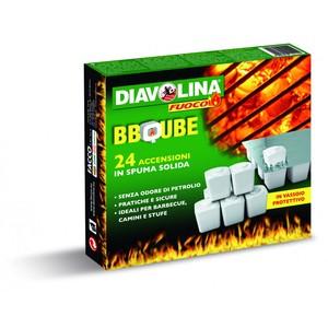 Diavolina BBQUBE 24 accensioni