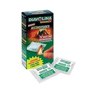 Diavolina Accendifuoco 12 bustine