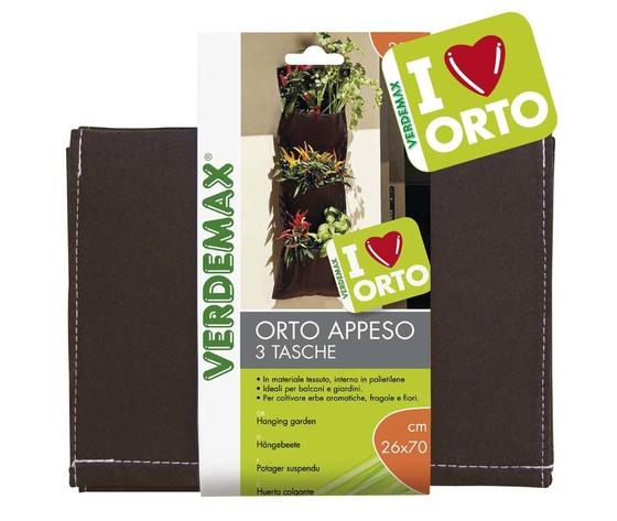 Orto appeso 3 tasche cm 26x70