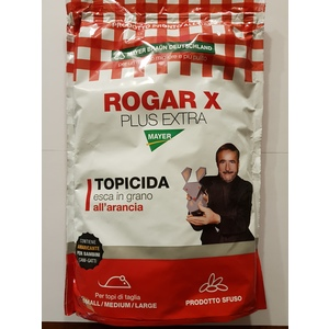 Rogar x plus extra grano sfuso 1500gr