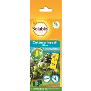 Solabiol Cattura insetti Olivo - 5 Trappole