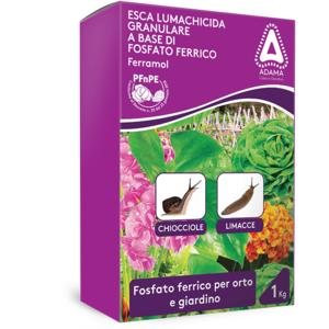 Adama Ferramol Esca lumachicida granulare a base di fosfato ferrico 1kg