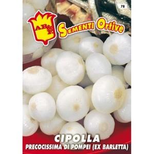 Cipolla precocissima di Pompei (Ex Barletta)