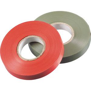 Nastro per legatrice 16mt rosso PVC