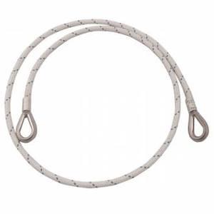 WIRE STEEL ROPE - LONGE ANTITAGLIO CON DUE ASOLE