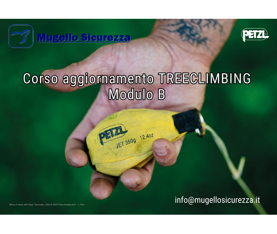Corso aggiornamento TREECLIMBING _mod. B (19/11/2021)