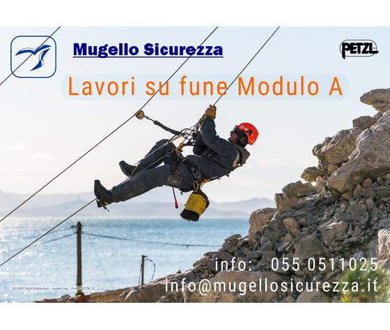 """Corso Lavori in quota MODULO """"A""""  (11/10/2021)"""