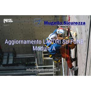 Corso aggiornamento LAVORI SU FUNE_ Modulo A (28/09/2021)