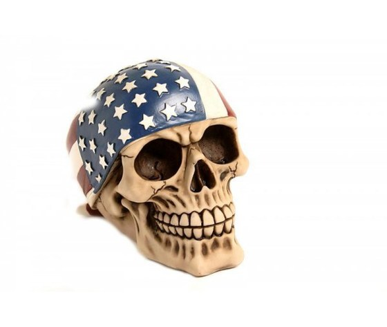 Teschio bandana americana