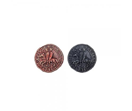 Magnete Sigillo Templare