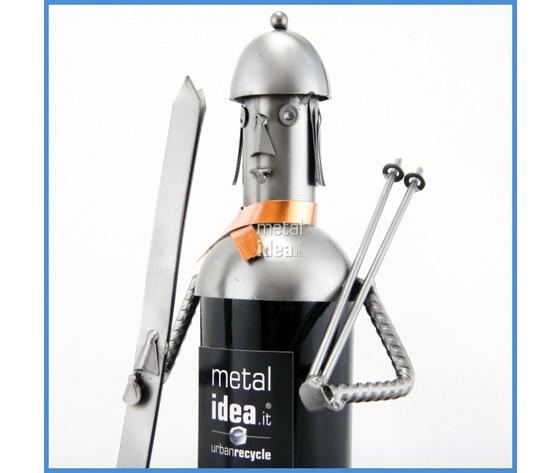 Bottiglie di Metallo Sciatore cover