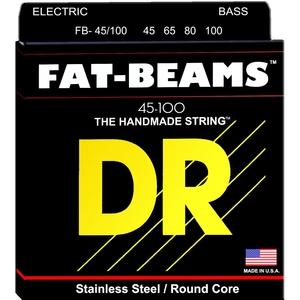 CORDE PER BASSO DR STRINGS FAT-BEAMS FB-45/100