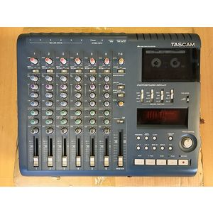 REGISTRATORE MULTITRACCIA A CASSETTA TASCAM PORTASTUDIO 424 MKIII 8 TRACCE