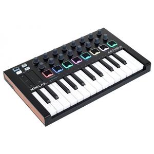 CONTROLLER MIDI/USB TASTIERA ARTURIA MINILAB MK2 BLACK EDITION