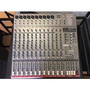 PHONIC AM844D - MIXER 12 CANALI CON EFFETTI DIGITALI