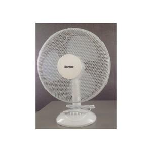 Ventilatore Zephir da tavolo bianco con pala diametro 30 cm