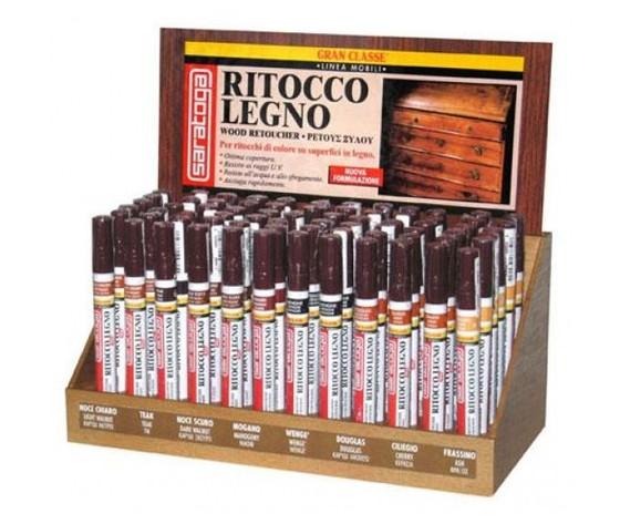 Pennarello ritocco legno Saratoga color noce chiaro - FERRAMENTA ...