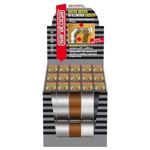 Nastro adesivo laccato marrone saratoga 4 X 9