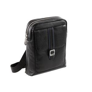 Courier Leather borsa tracolla porta ipad