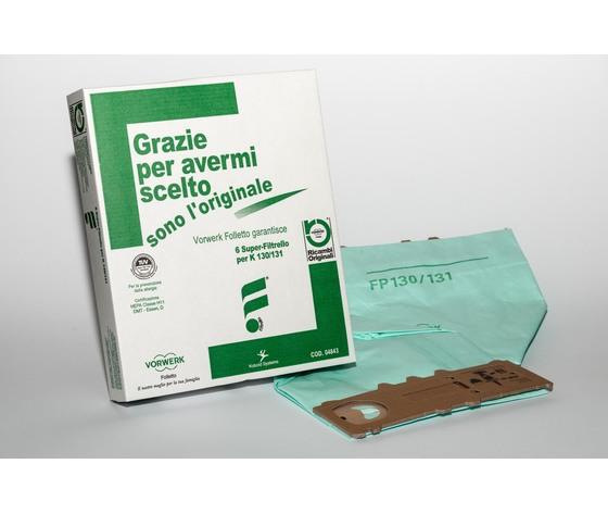 Sacchetti Vorwerk 130/131 6pz