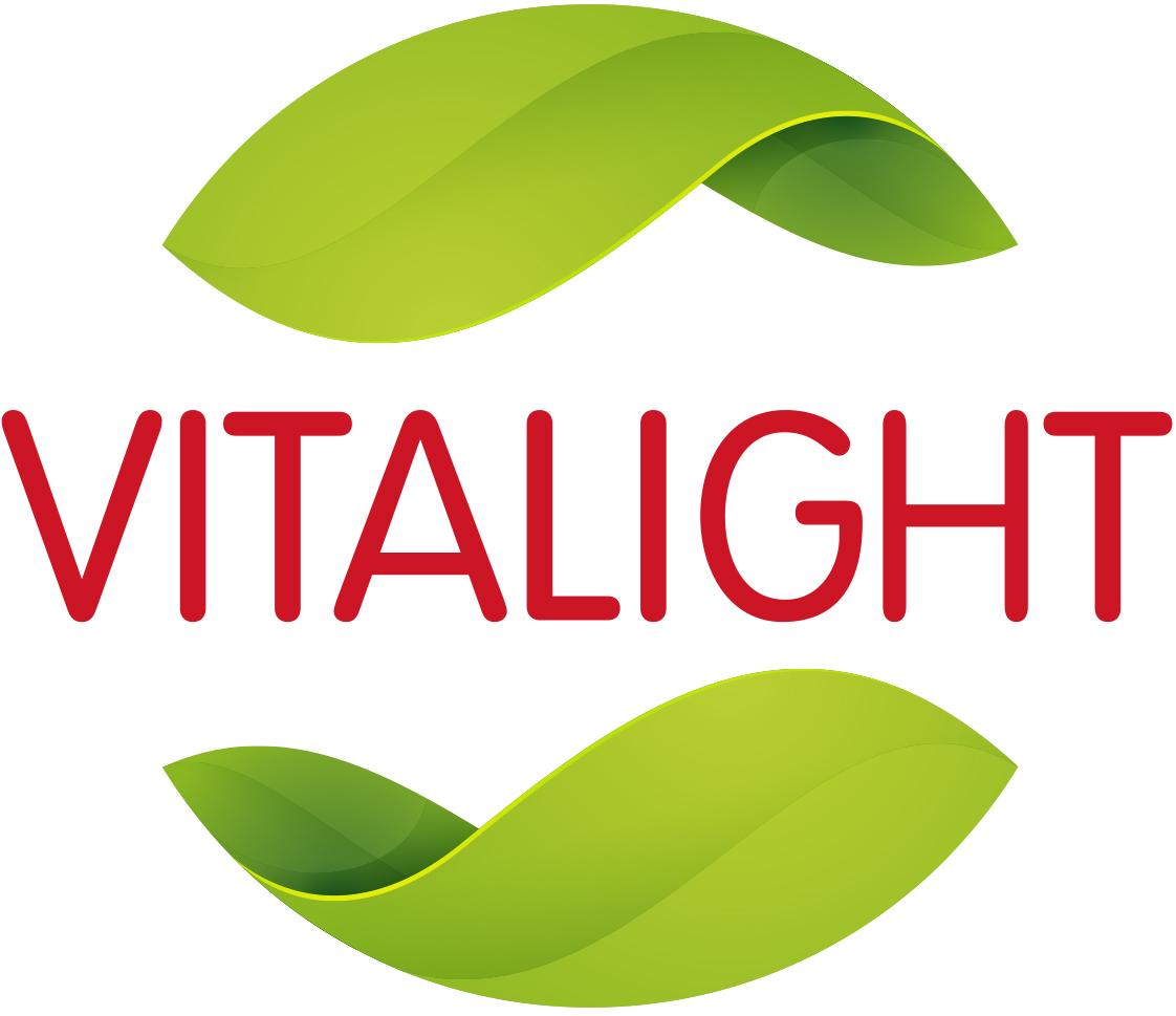 Logo vitalight rgb