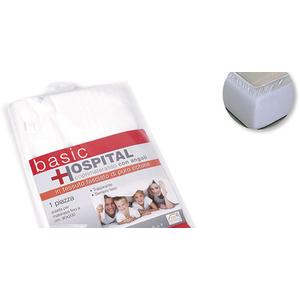 Copri Materasso C/A Fasciato 100% Cotone