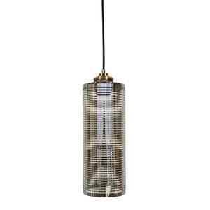 Lampadario a sospensione in vetro INDUSTRIAL - 115x12 cm